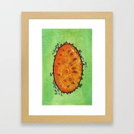 Kiwano Framed Art Print