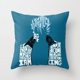 grimmjow Throw Pillow