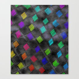 Square Color Canvas Print