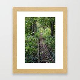 track Framed Art Print