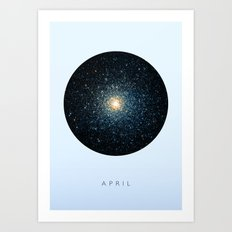 April inspired Art Print