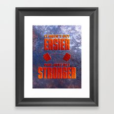 Easy Framed Art Print