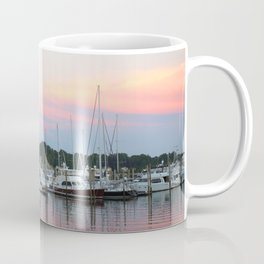 Boats In The Marina Coffee Mug