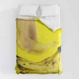 Grab a banana Comforters
