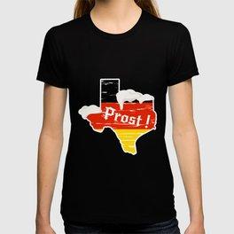 Drinking Beer Texas Prost German Oktoberfest T-shirt