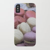 macaroons iPhone & iPod Cases featuring macaroons by redlinedesign®