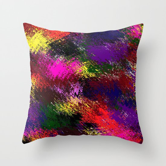 Whirl wind Throw Pillow