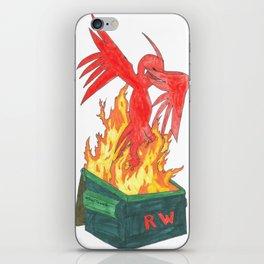 Dumpster Phoenix iPhone Skin