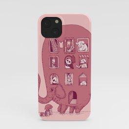 Elephant Bus - FatPanda iPhone Case