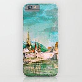 """Albrecht Dürer """"View of Innsbruck"""" iPhone Case"""
