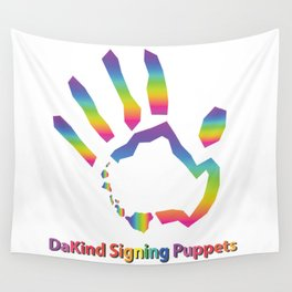 DaKind Signing Puppets Wall Tapestry