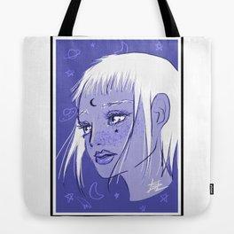 Cosmic Magical Girl Tote Bag