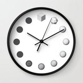 Catmull-Clock Subdivision Wall Clock