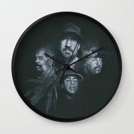 Stoned Raiders Wall Clock