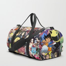 Anime Mix Wallpaper Duffle Bag