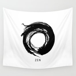 Zen Enso Circle Wall Tapestry