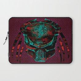 Soldier Predator Red Teal Laptop Sleeve