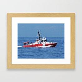 Patrol Boat Framed Art Print