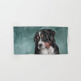 Bernese Mountain Dog Hand & Bath Towel