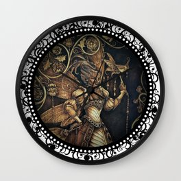 Fairy Court - The Wasp Wall Clock