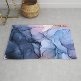 Captivating 1 - Alcohol Ink Painting Rug