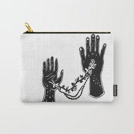 Joined Hands Carry-All Pouch