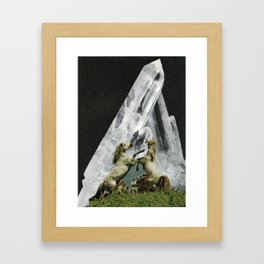 //NEW MOON UNIT// Framed Art Print
