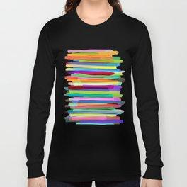 Colorful Stripes 1 Long Sleeve T-shirt