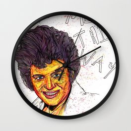 'Remember Me This Way' Wall Clock