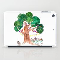 welcome iPad Cases featuring Welcome by Sreetama Ray