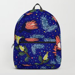 Australian Native Floral Pattern - Bright and Cute Backpack