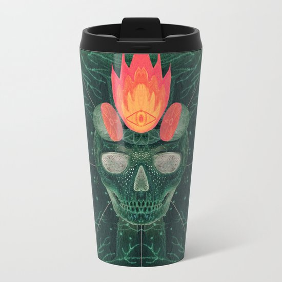 Catastrophe IV (The Green Invasion) Metal Travel Mug