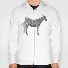 Feather Horse  Hoody