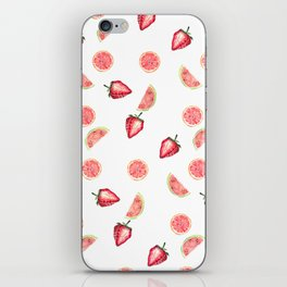 Fruit Slices Pattern iPhone Skin