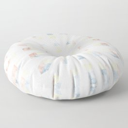 Depth perception - marble out Floor Pillow