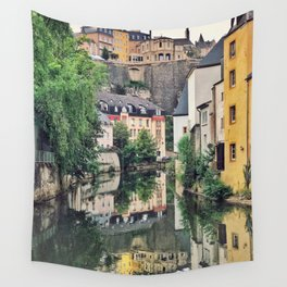 Luxembourg City, The Grund Wall Tapestry