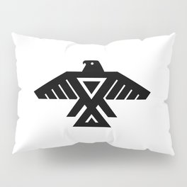 Thunderbird flag - Authentic Hi Def Pillow Sham