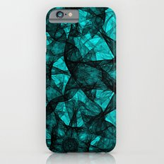 Fractal Art Turquoise G52 iPhone 6s Slim Case