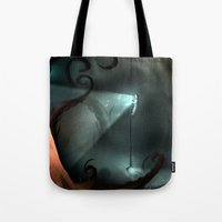 nemo Tote Bags featuring Captain Nemo by IOSQ