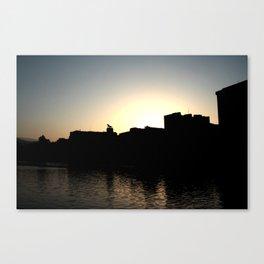 Skyline Bilbao Canvas Print