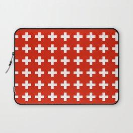 flag of switzerland 2-Switzerland, Alps,swiss,Schweizer,suisse,zurich,bern,geneva Laptop Sleeve