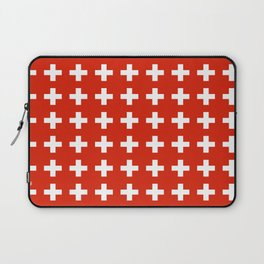 flag of switzerland 2-Switzerland, Alps,swiss,Schweizer,suisse,zurich,bern,geneva Laptop Sleeve