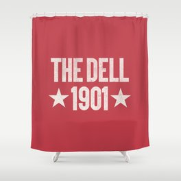 The Dell Football Ground Shower Curtain