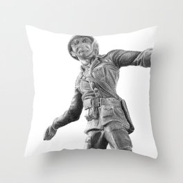 Toy Soldier Throw Pillow