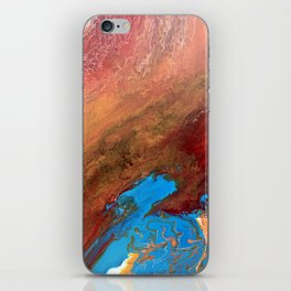 Arizona Agate Slab iPhone Skin