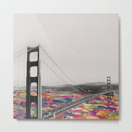 It's in the Water Metal Print