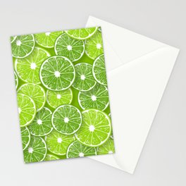 Lime pop Stationery Cards