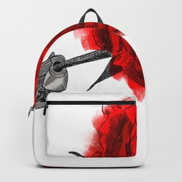 Love is in bloom Backpack