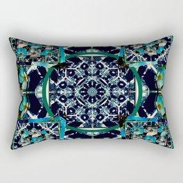 cherokee rose Maltese cross 1 Rectangular Pillow