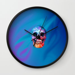 Celestial Skull Wall Clock